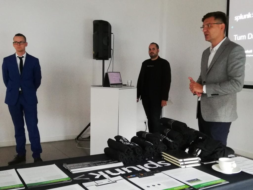 Otwarcie konferencji Akquinet Polska